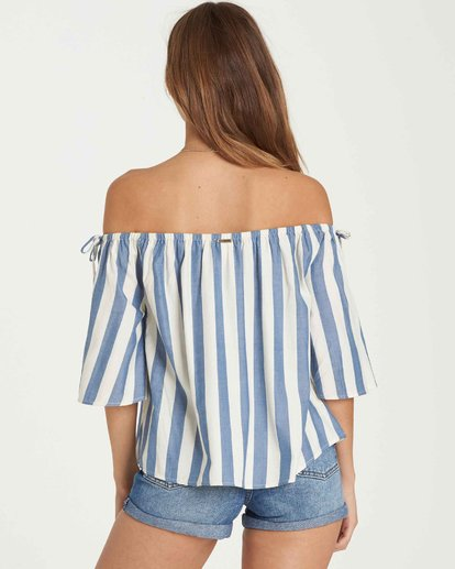 2 Match Up Off-The-Shoulder Top  J528QBMA Billabong
