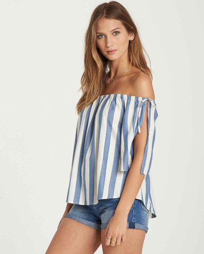 1 Match Up Off-The-Shoulder Top  J528QBMA Billabong