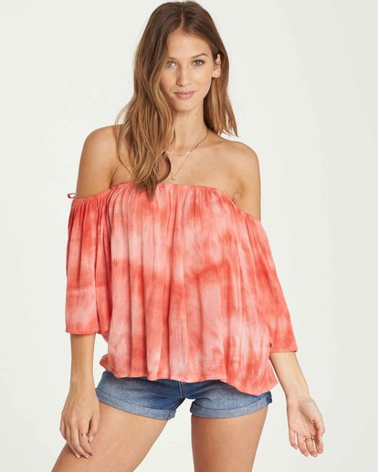 0 Match Up Off-The-Shoulder Top  J529QBMA Billabong