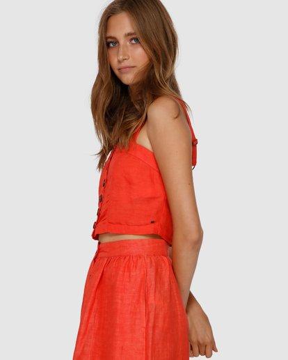 2 Lost On You Cami Top Orange J551VBLO Billabong
