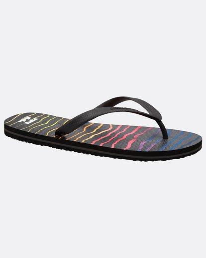 3 Tides Sundays Sandals Noir J5FF01BIS8 Billabong