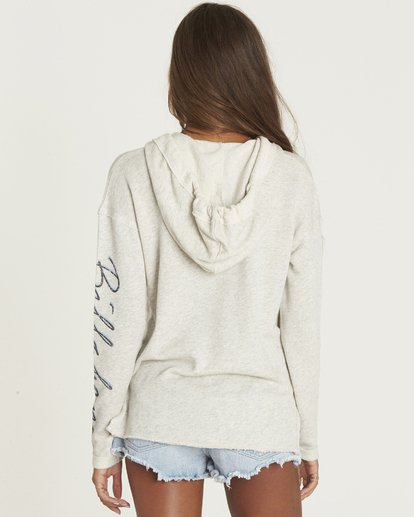 2 Days Off Pullover Hoodie Grey J601PBDA Billabong
