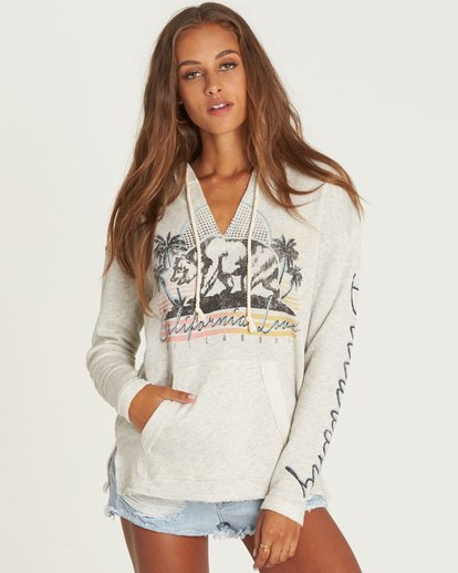 0 Days Off Pullover Hoodie Grey J601PBDA Billabong