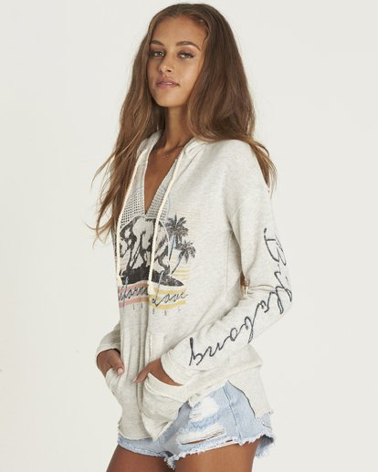 1 Days Off Pullover Hoodie Grey J601PBDA Billabong