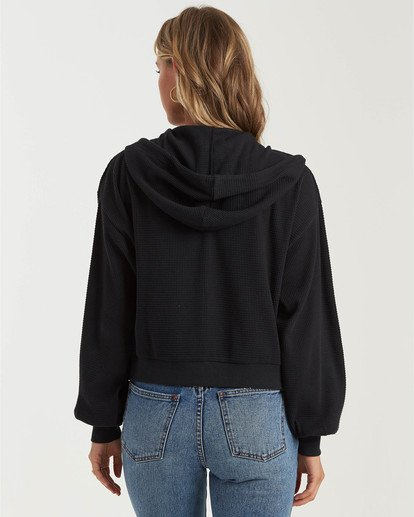 1 Perfect Sunday Hooded Top Black J6023BPE Billabong