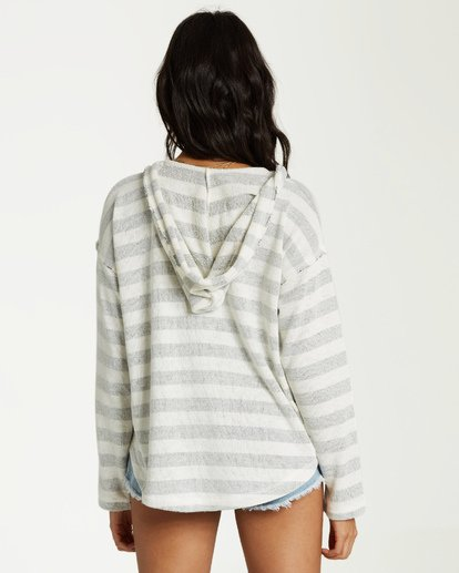 2 Beach Daze 2 Hoodie White J602UBBE Billabong