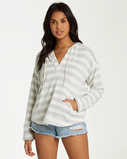 0 Beach Daze 2 Hoodie White J602UBBE Billabong