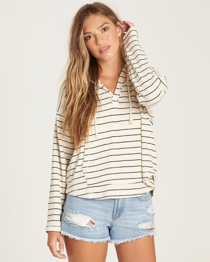 1 Beach Daze 2 Hoodie White J602UBBE Billabong