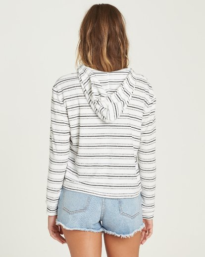 2 Saturday Feeling Hoodie White J603UBSA Billabong