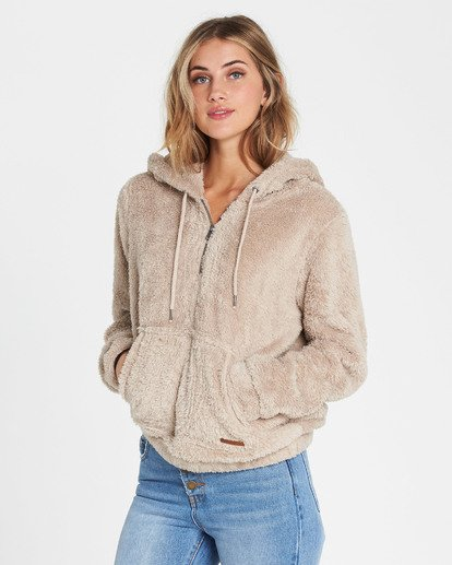 2 Cozy For Keeps Fleece Hoodie  J604QBCO Billabong