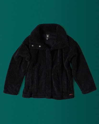 1 Cozy Days Sherpa Jacket Black J604SBCO Billabong