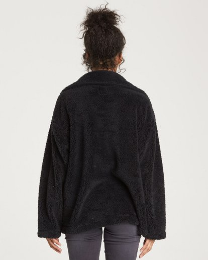 4 Cozy Days Sherpa Jacket Black J604SBCO Billabong