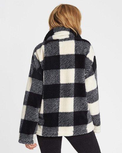 2 Cozy Days Sherpa Fleece Jacket  J604SBCO Billabong