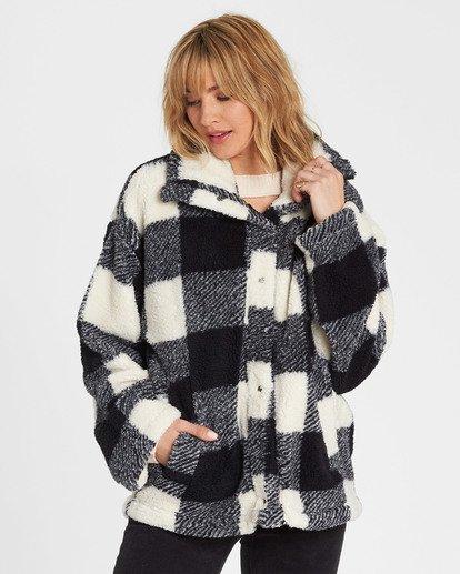 0 Cozy Days Sherpa Fleece Jacket  J604SBCO Billabong