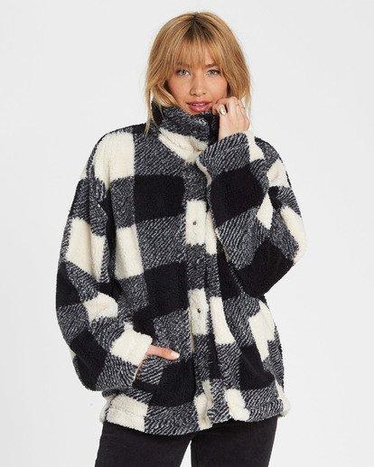 3 Cozy Days Sherpa Fleece Jacket  J604SBCO Billabong