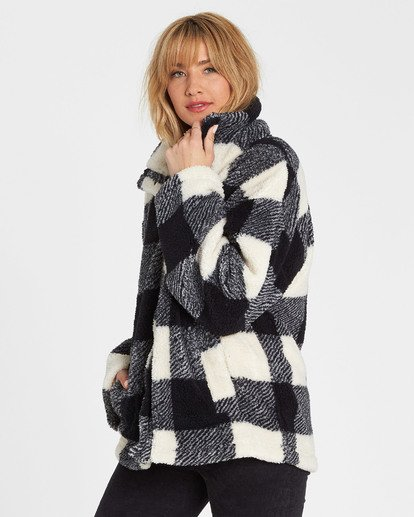 1 Cozy Days Sherpa Fleece Jacket  J604SBCO Billabong