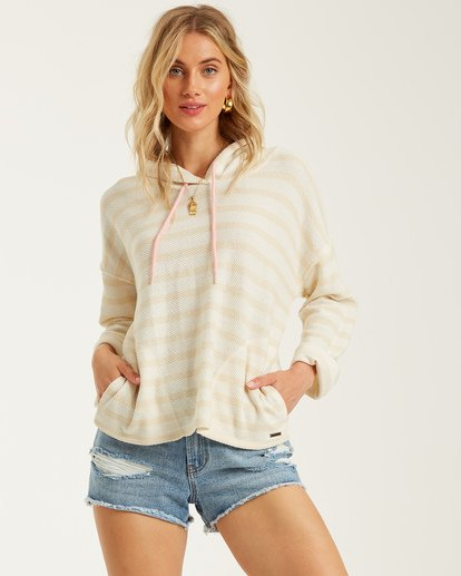 0 Beach Dreams Hoodie White J6052BBE Billabong