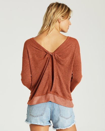 1 Windward Bound Sweater Brown J605VBWI Billabong