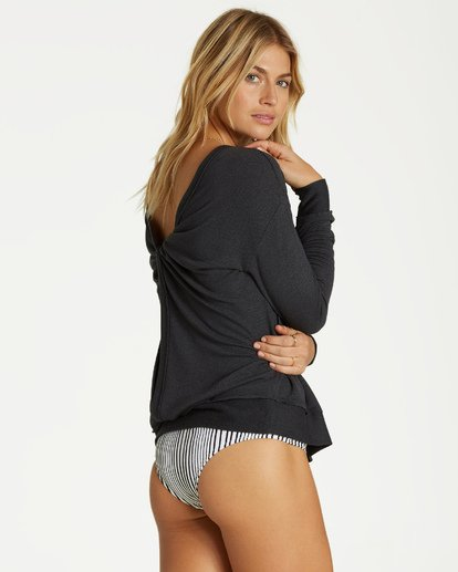 2 Windward Bound Sweater Black J605VBWI Billabong