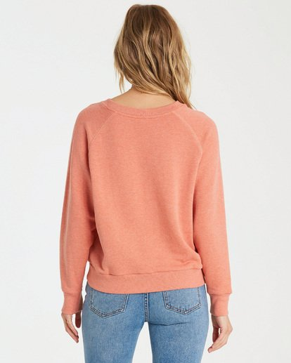 2 Keep Tryin Pullover Orange J609WBKE Billabong