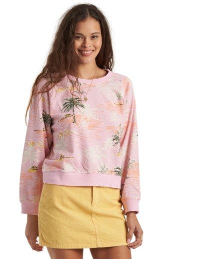 9 Sun Shrunk Sweatshirt Grey J6163BSU Billabong