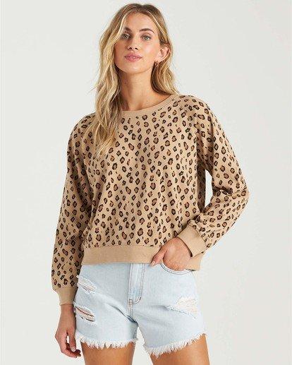 0 Sun Shrunk Sweatshirt Multicolor J6163BSU Billabong