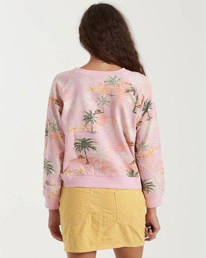 3 Sun Shrunk Sweatshirt Grey J6163BSU Billabong