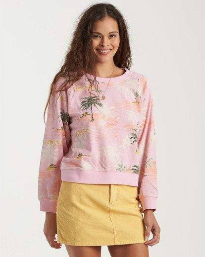 2 Sun Shrunk Sweatshirt Grey J6163BSU Billabong