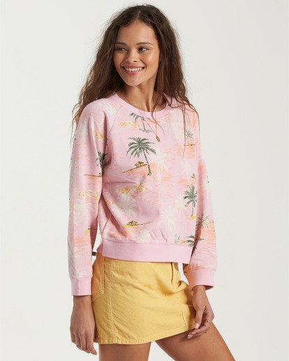 4 Sun Shrunk Sweatshirt Grey J6163BSU Billabong