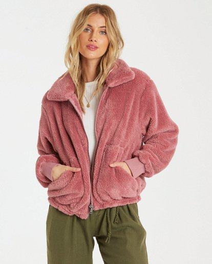 0 Always Cozy Fleece Purple J616WBAL Billabong