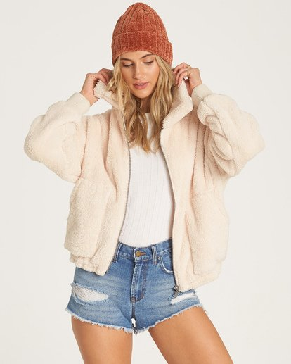 2 Always Cozy Fleece Beige J616WBAL Billabong
