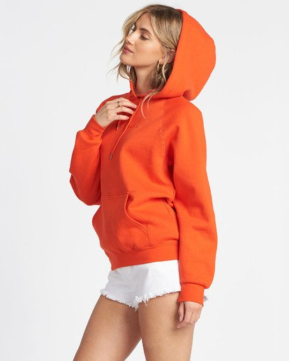 1 Legacy 2.0 Hoodie Fleece Orange J6201BLE Billabong