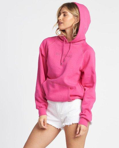 1 Legacy 2.0 Hoodie Fleece Pink J6201BLE Billabong