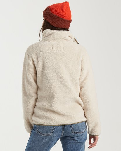 2 Switchback Pullover Fleece White J6211BSW Billabong