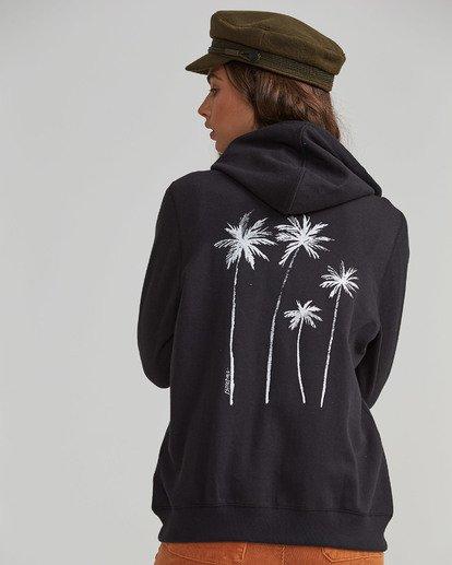 2 Palm Treez Fleece Zip Hoodie  J621SBPA Billabong