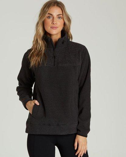 0 A/DIV Boundary Half-Zip Pullover Fleece  J624SBBO Billabong