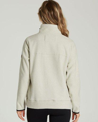 2 A/DIV Boundary Half-Zip Pullover Fleece Grey J624SBBO Billabong