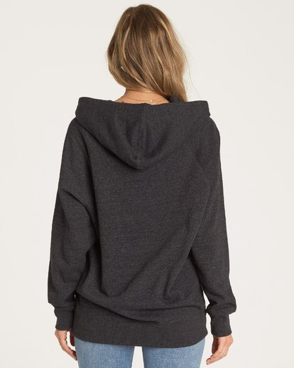 2 Out And Out Hoodie Black J629WBOU Billabong