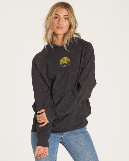 1 Out And Out Hoodie Black J629WBOU Billabong