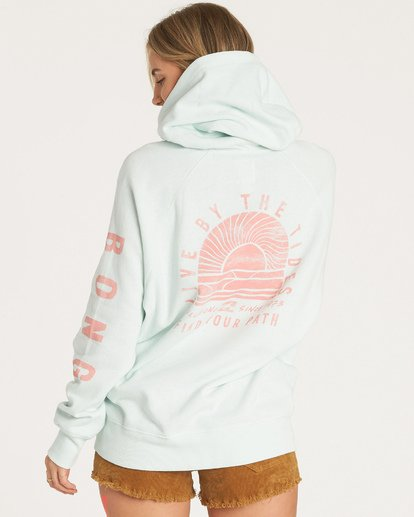 2 Out And Out Hoodie Blue J629WBOU Billabong