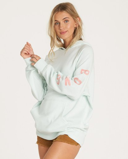 1 Out And Out Hoodie Blue J629WBOU Billabong
