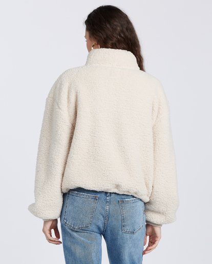 5 Time Off Fleece Pullover White J6413BTI Billabong