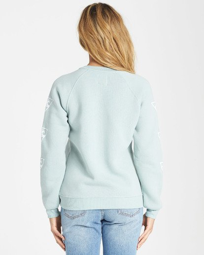 2 Waves For Days Fleece Sweatshirt  J650SBWV Billabong