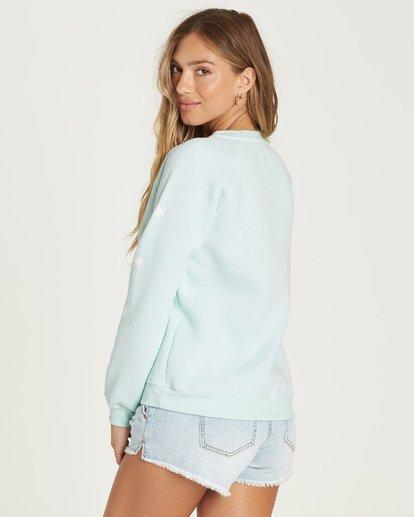 3 Sweet Sunshine Sweatshirt Blue J650UBSW Billabong
