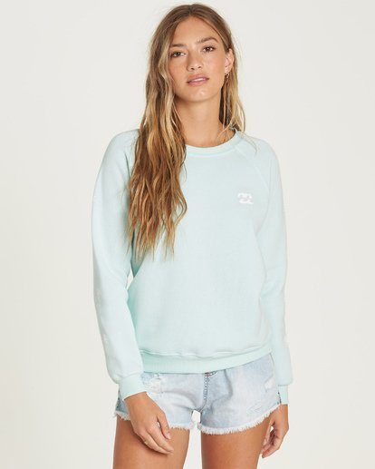0 Sweet Sunshine Sweatshirt Blue J650UBSW Billabong