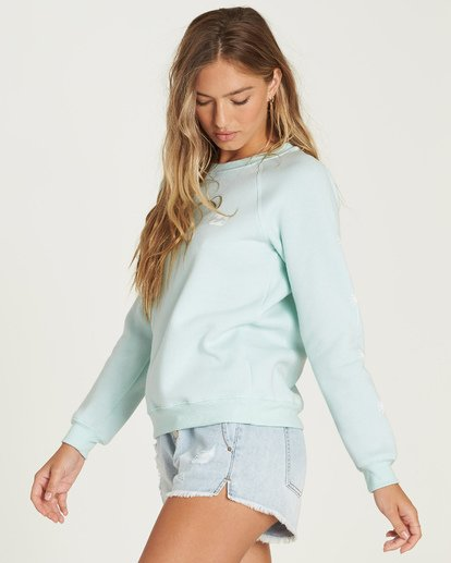 1 Sweet Sunshine Sweatshirt Blue J650UBSW Billabong