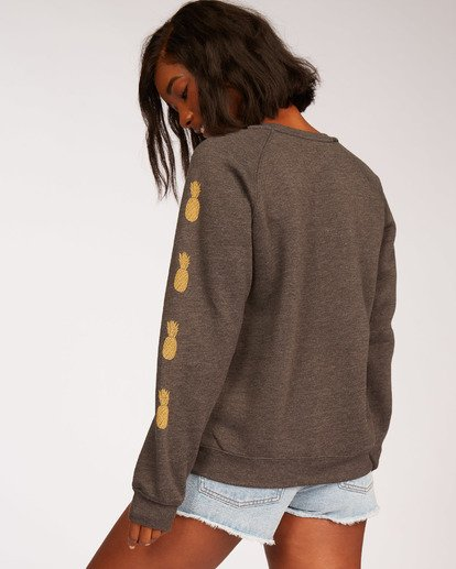 1 Dazed Days Sweatshirt Black J650WBDR Billabong
