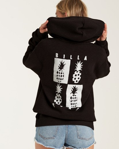 0 Mod Pineapple Hoodie Black J6512BMO Billabong