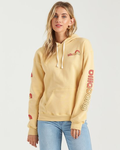 3 Make Me Mellow Hoodie  J6513BMA Billabong
