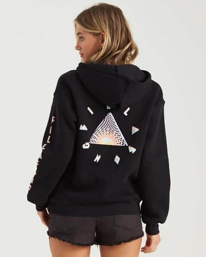 2 Totally Stoked Hoodie Black J6513BTO Billabong